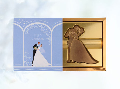 2 pcs Wedding Chocolate