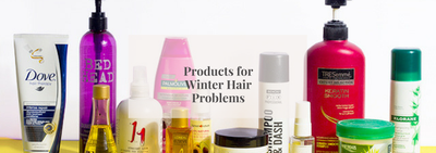 Products for Winter Hair Problems