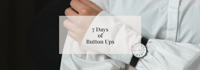 7 Days of Button Ups