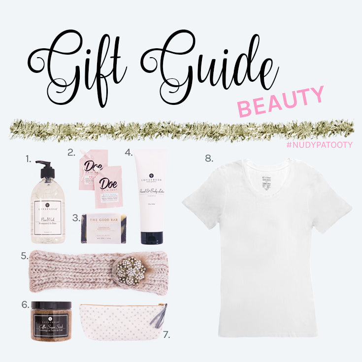 Nudy Patooty Holiday Gift Guide for Beauty Lovers 2016