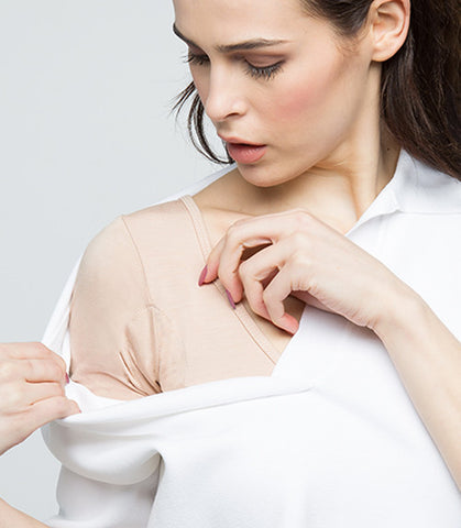 Prevent underarm stains, remove yellow stains from white clothing