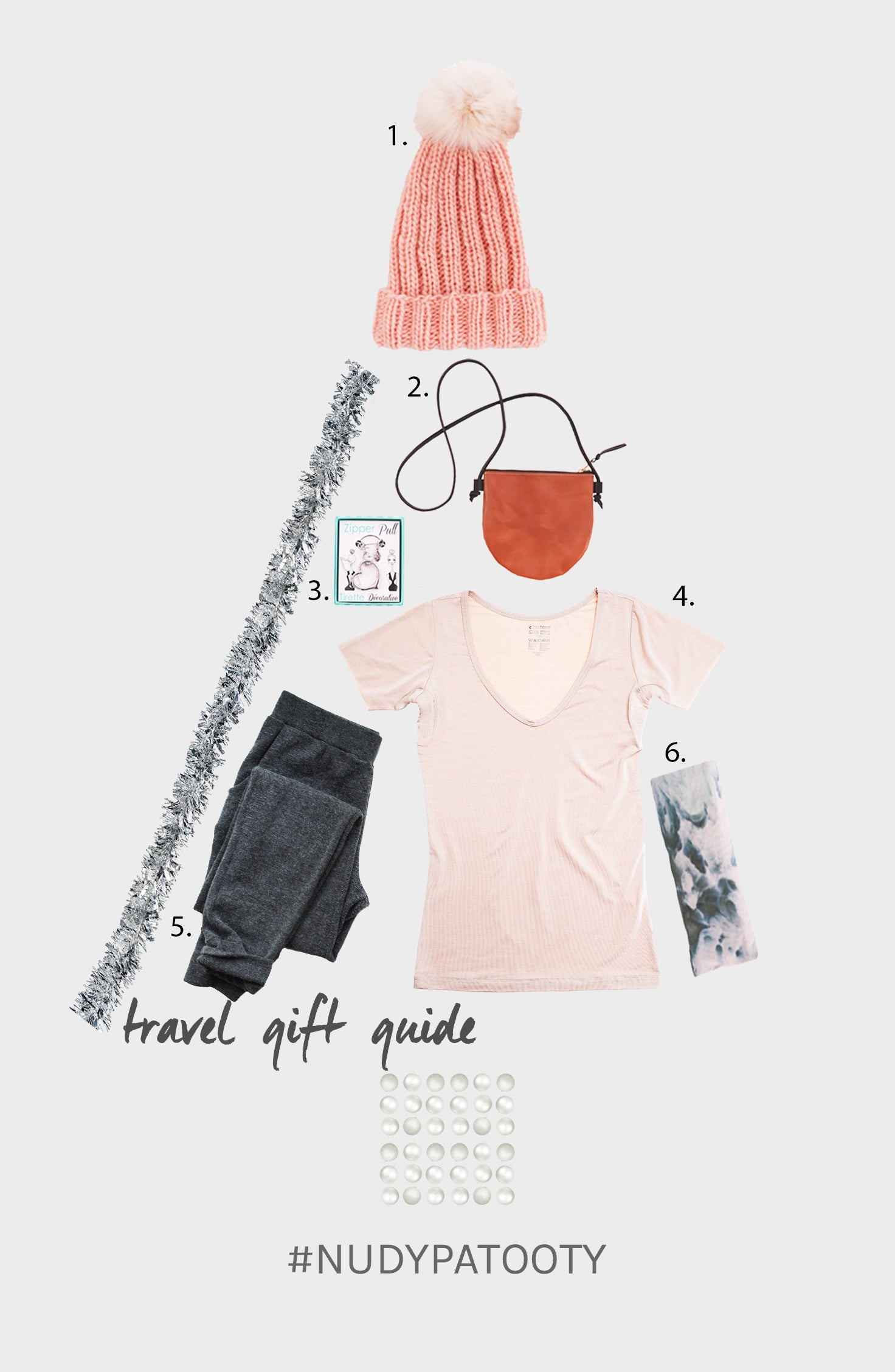 Nudy Patooty Holiday Gift Guide for the Jet Setter 2016