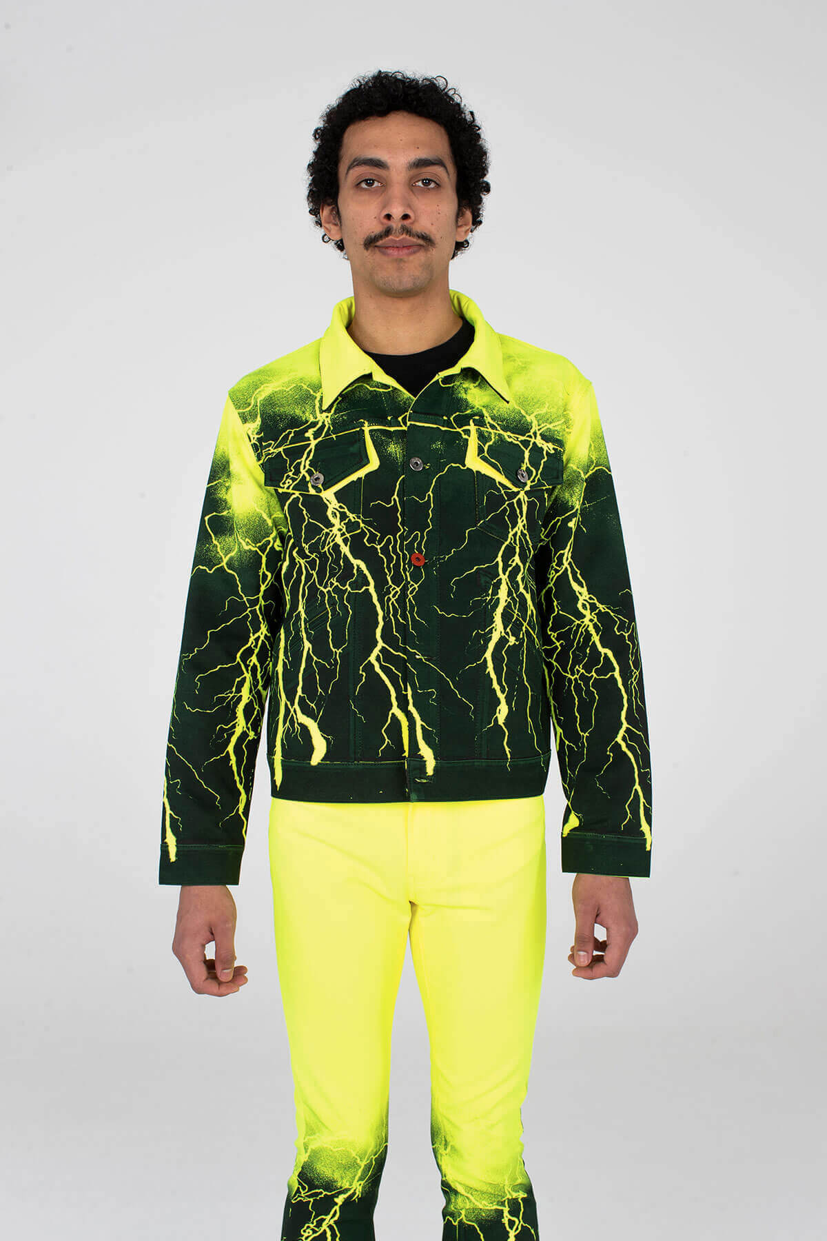 Pax Jacket Neon Yellow Lightning - MJB