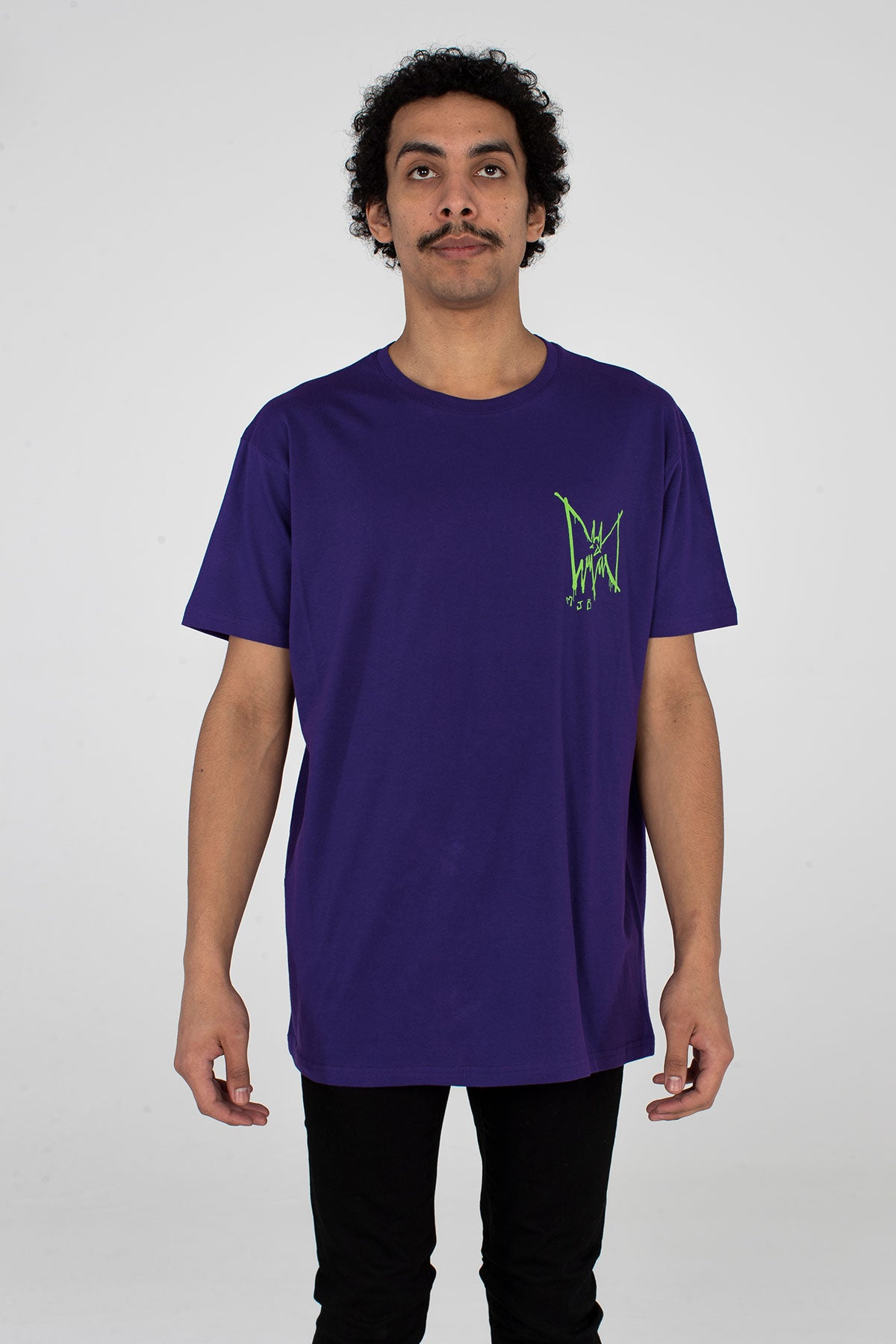 Festival T Shirt Purple Bat - TOP - MJB