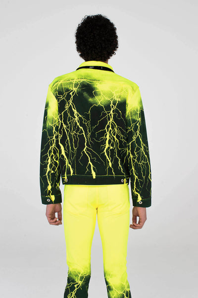Pax Jacket Neon Yellow Lightning