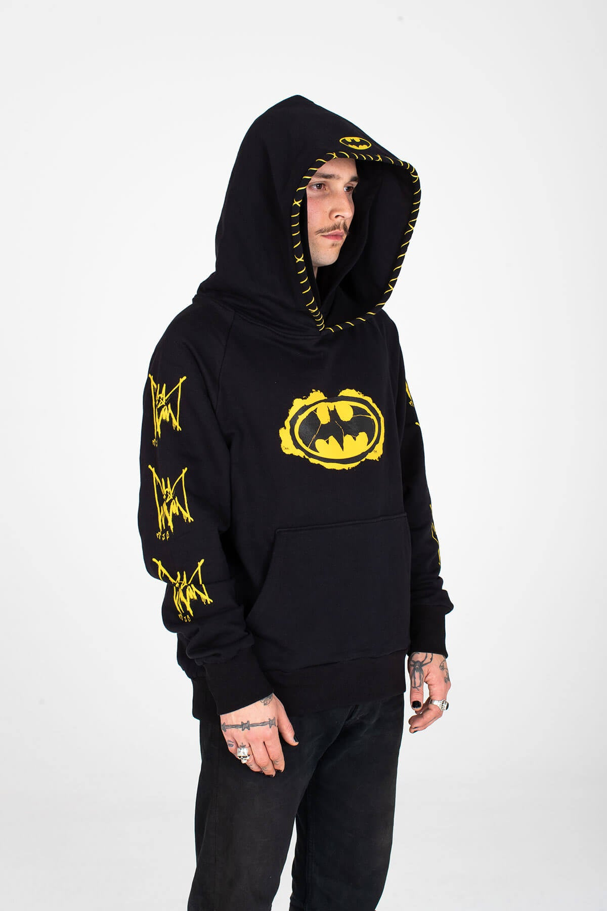BATMAN X MJB DOUBLE HOODIE COMIC - MJB