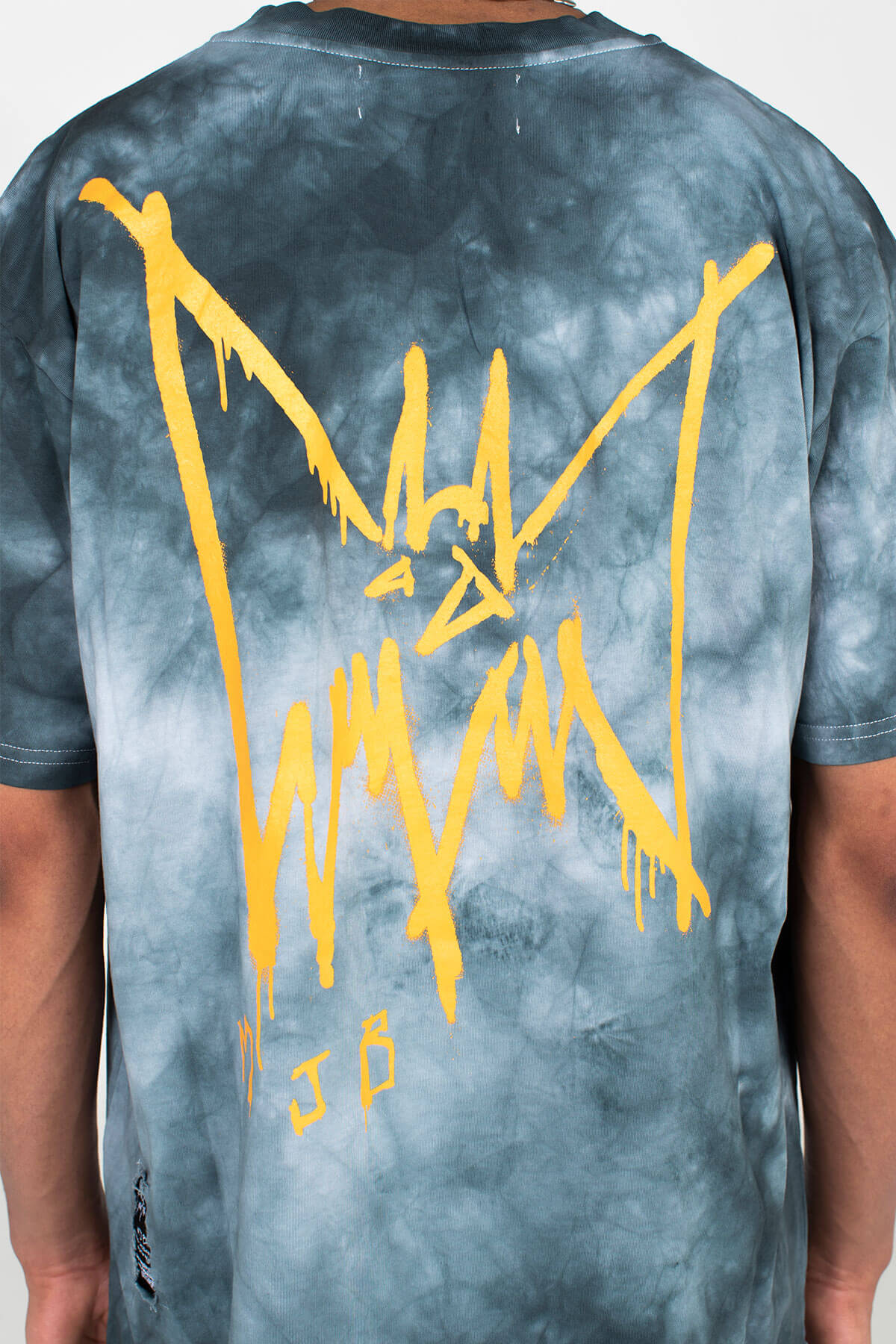 FESTIVAL T SHIRT – LIMITED EDITION TIE DYE BAT - TOP - MJB