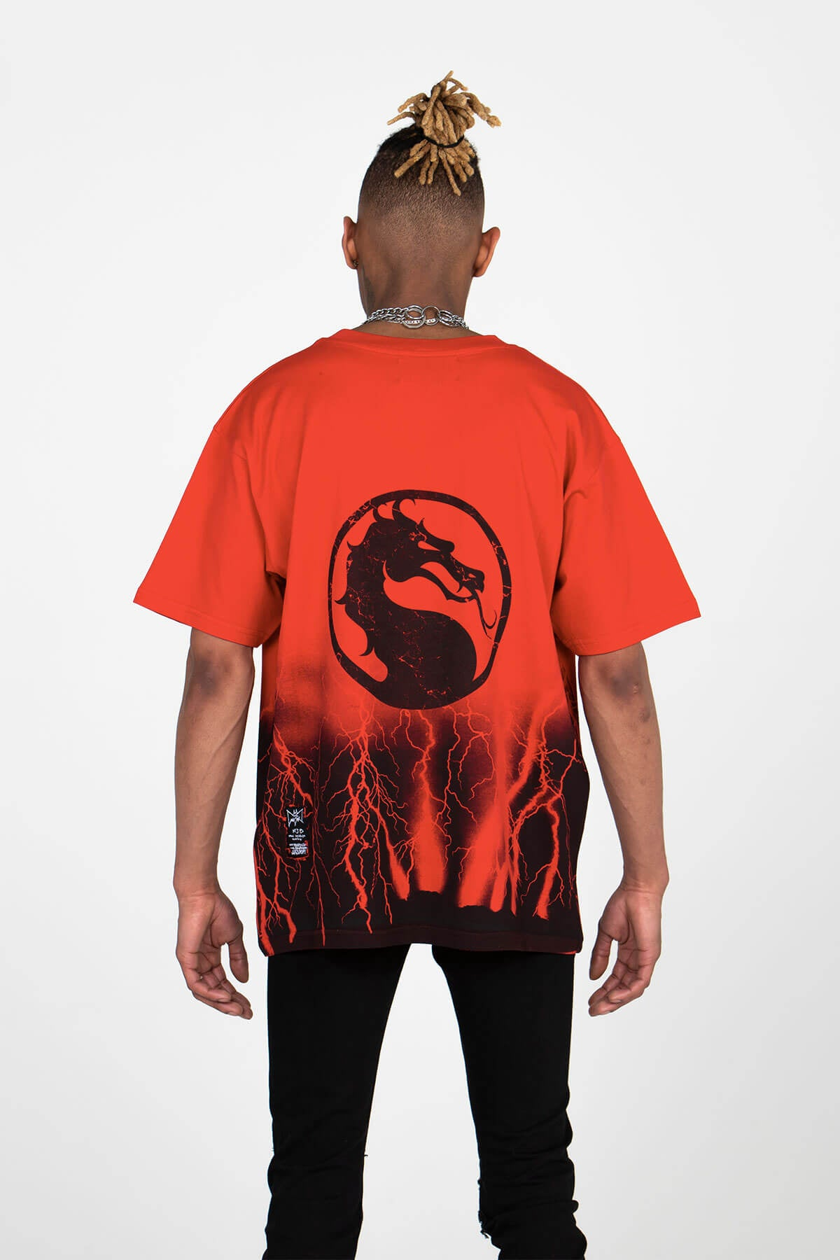 MORTAL KOMBAT X MJB (LIMITED EDITION) – FESTIVAL T SHIRT CRACKS - MJB