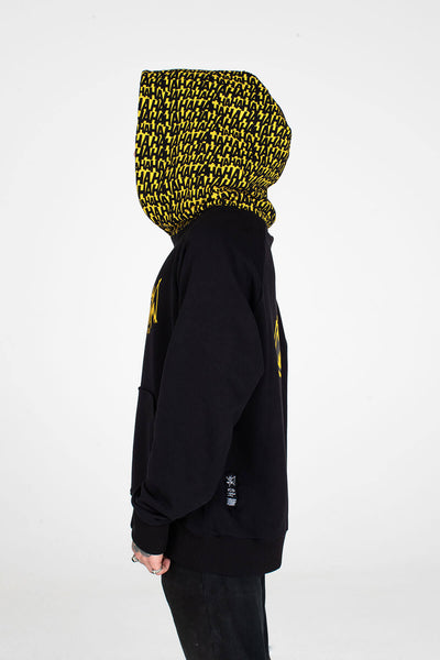 BATMAN X MJB HAHAHA BALACLAVA HOODIE COMIC WEBSITE EXCLUSIVE
