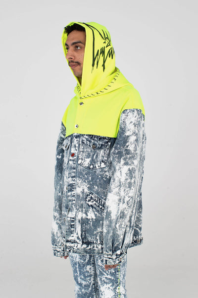 Hooded Magna Pax - Acid Wash
