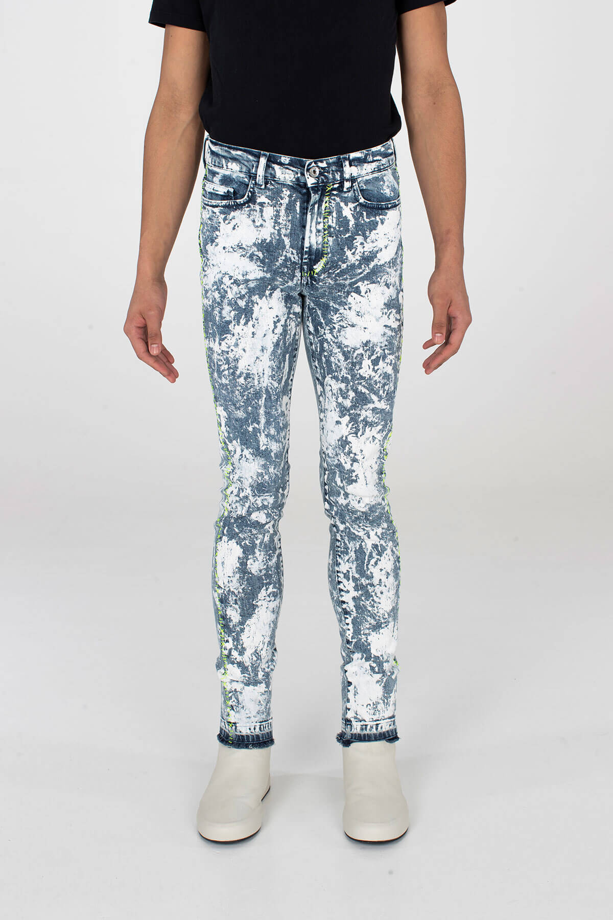 Crixus Jeans Acid Wash Punk - MJB