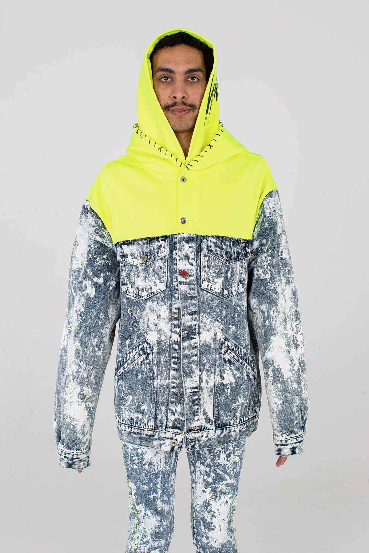 Hooded Magna Pax - Acid Wash - MJB