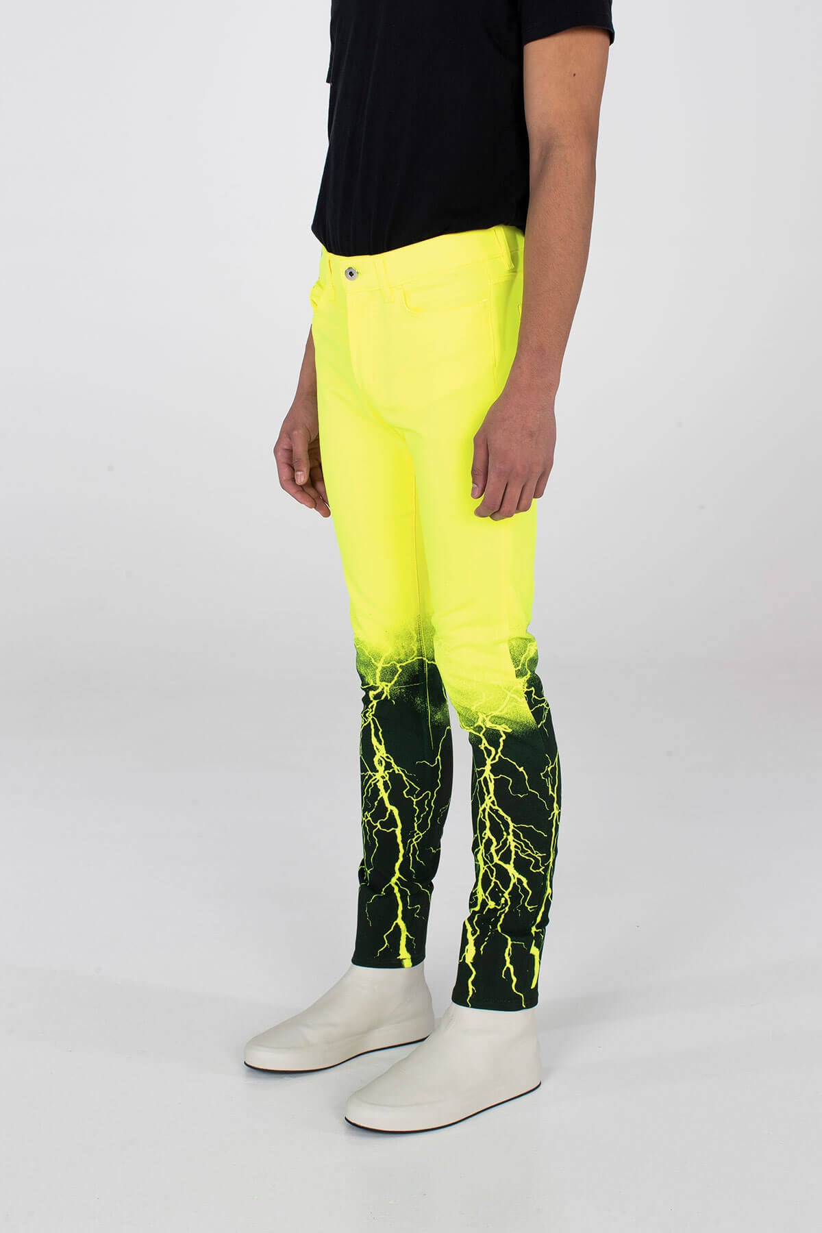 Crixus Jeans – Lightning Neon Yellow - BOTTOM - MJB