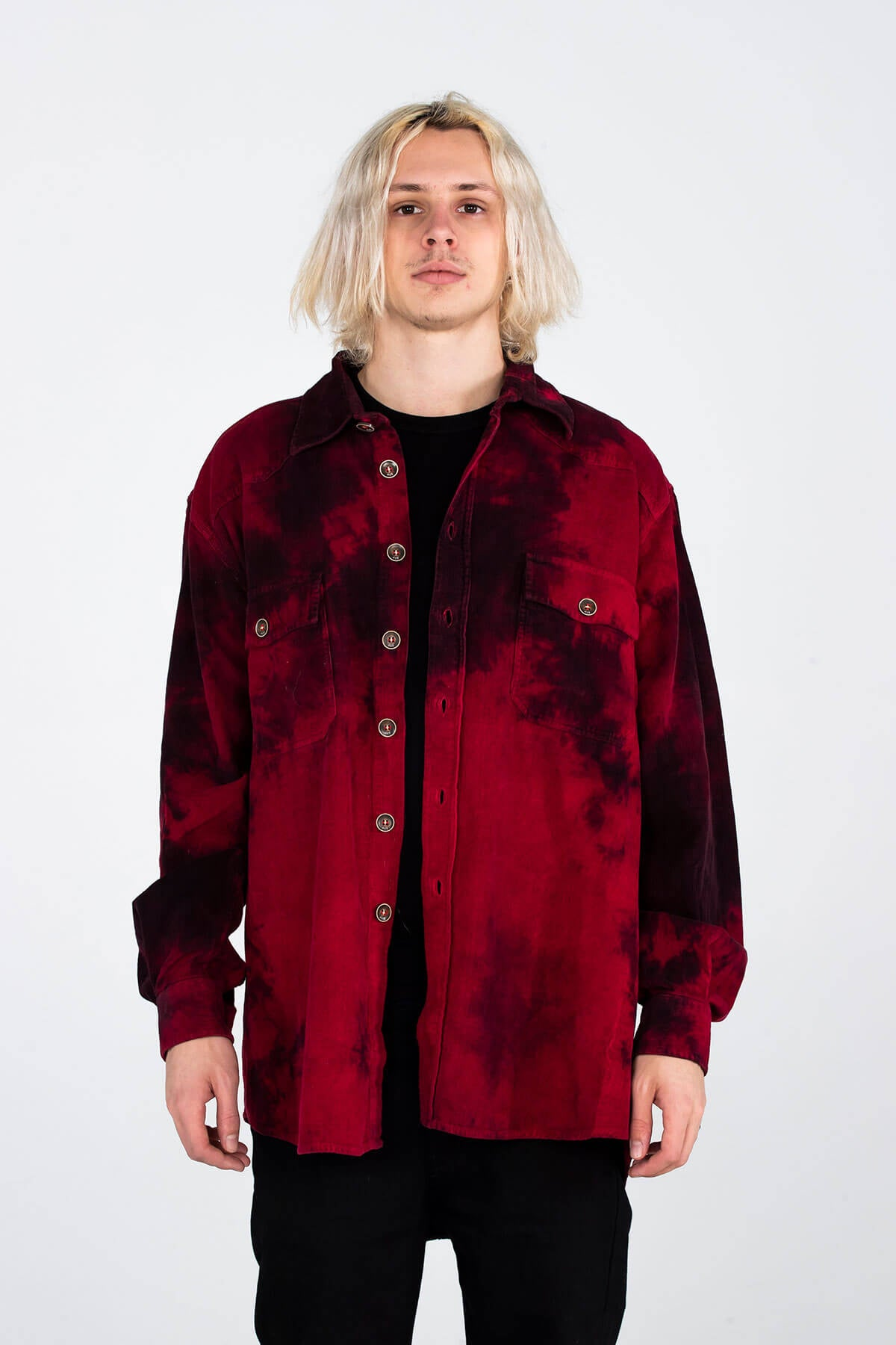 MJB RED ROCKER WORLD OVERSHIRT - TOP - MJB
