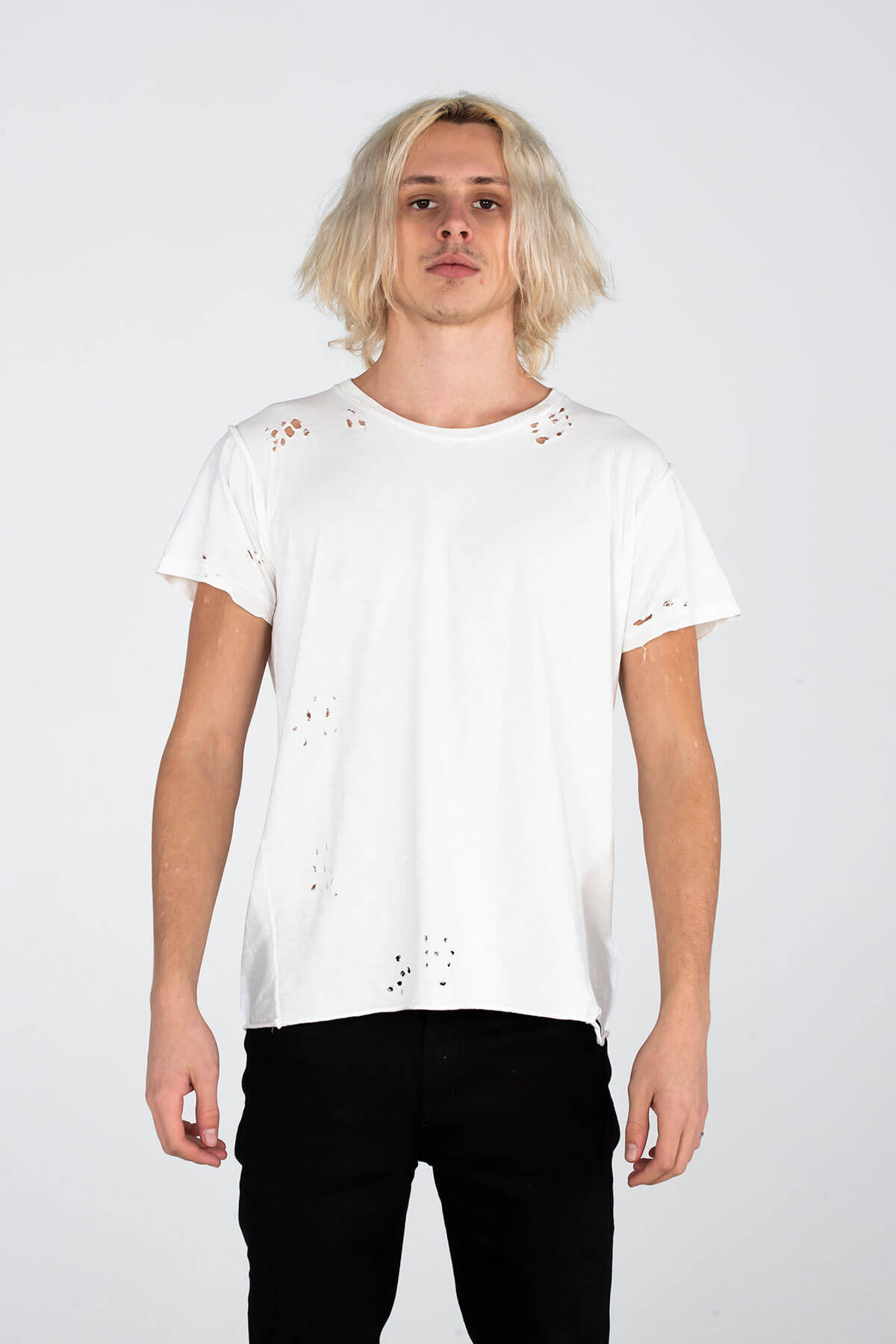 MJB VINTAGE T SHIRT – HAND DISTRESSED - TOP - MJB