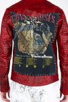 VINTAGE GUNS N ROSES BIKER JACKET – HAND CRAFTED - ARCHIVE JACKET - MJB