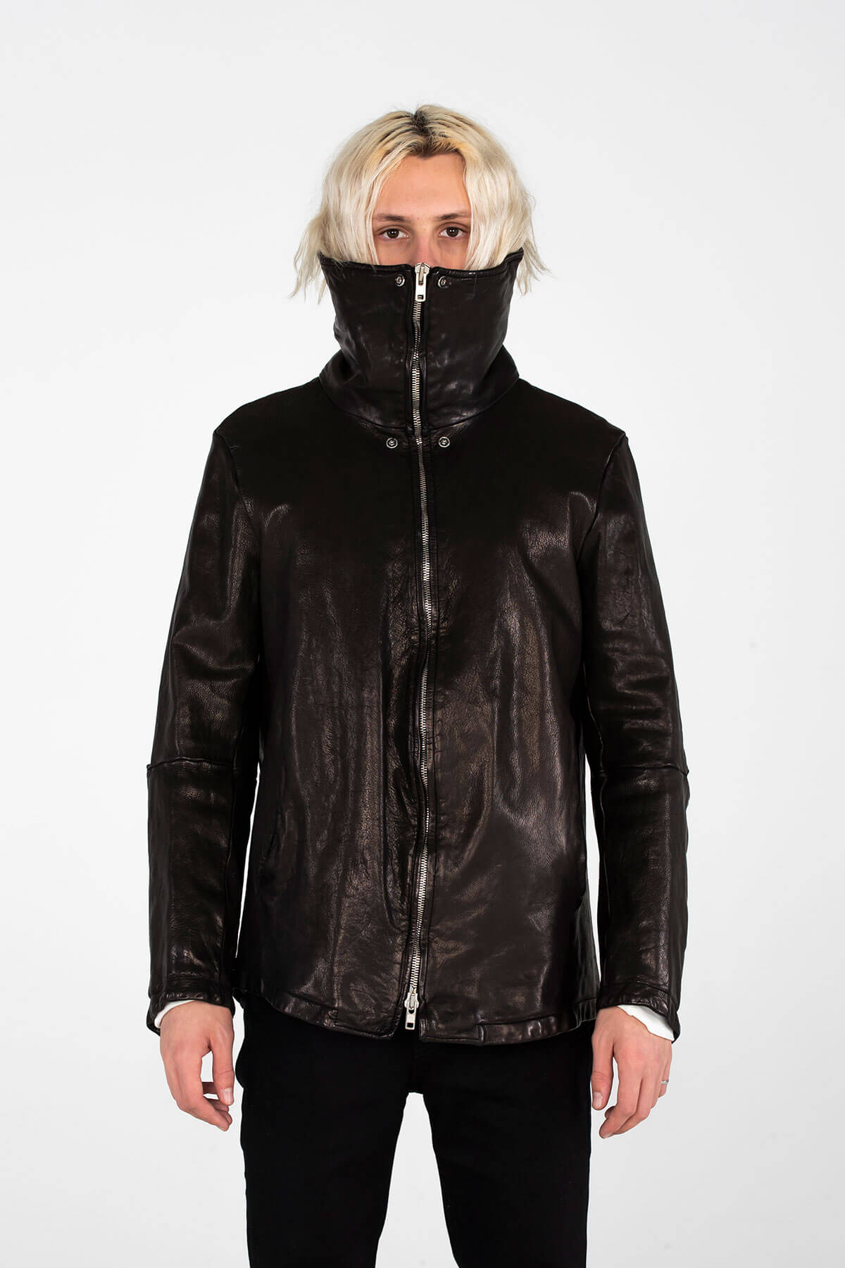 CLASSIC LEATHER JACKET - HAND CRAFTED - ARCHIVE JACKET - MJB