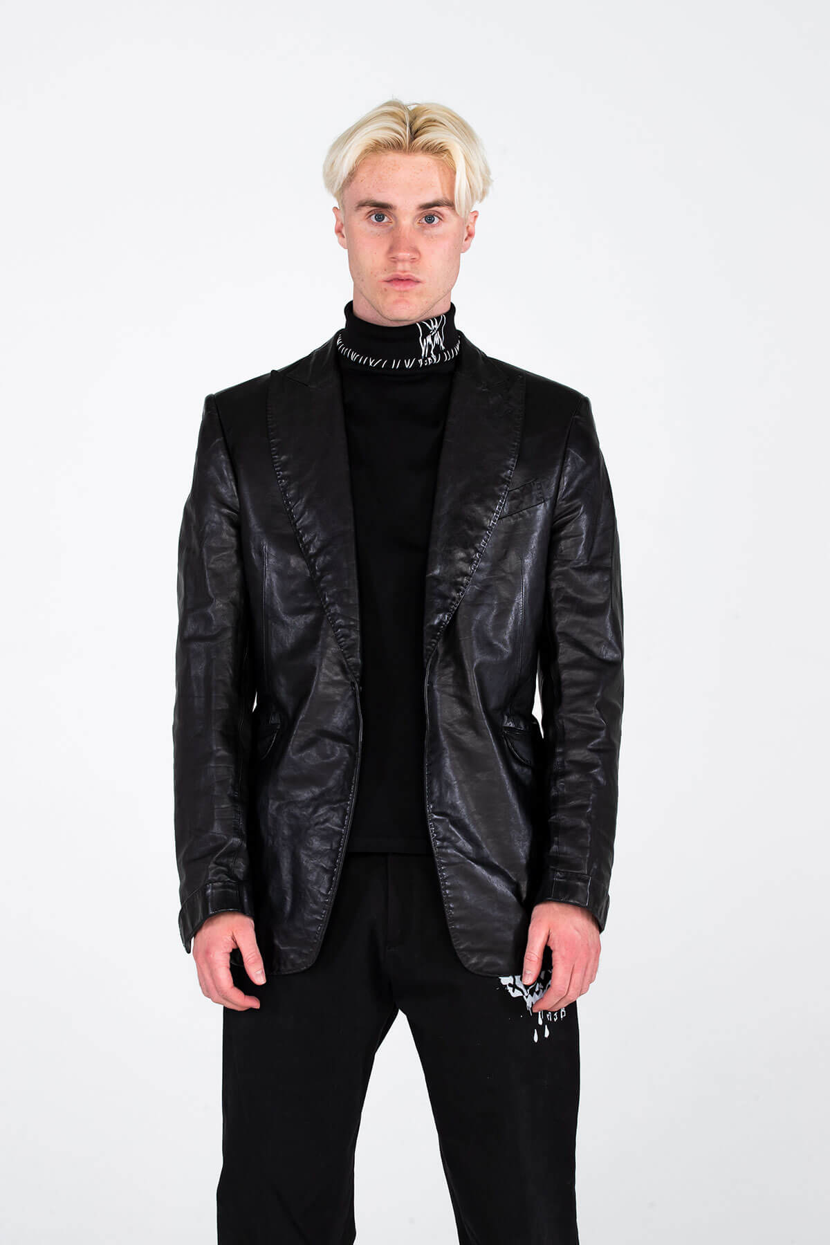 CLASSIC LEATHER JACKET – HAND CRAFTED - ARCHIVE JACKET - MJB