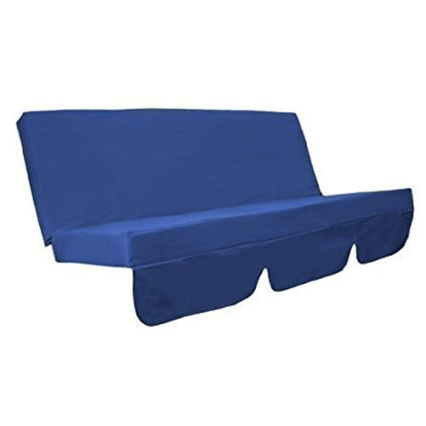Swing Seat Bench Cushion for Garden Hammock in RoyalBlue - IRA Furniture