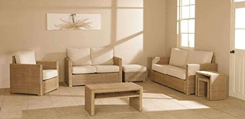 IRA Wicker Rattan Sofa Sets (Natural) - IRA Furniture