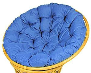 IRA Blue Cushion for Papasan Chair Replacement - Floor Cushion - IRA Furniture