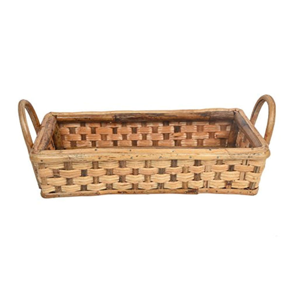 IRA Multipurpose Cane Basket Tray - IRA Furniture