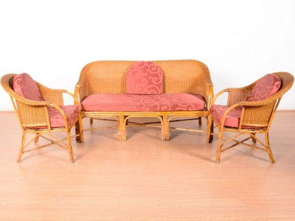 IRA Bamboo 5-Seater Sofa Set - IRA Furniture