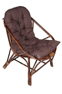 IRA Brown Chair of Rattan & Wicker - IRA Furniture