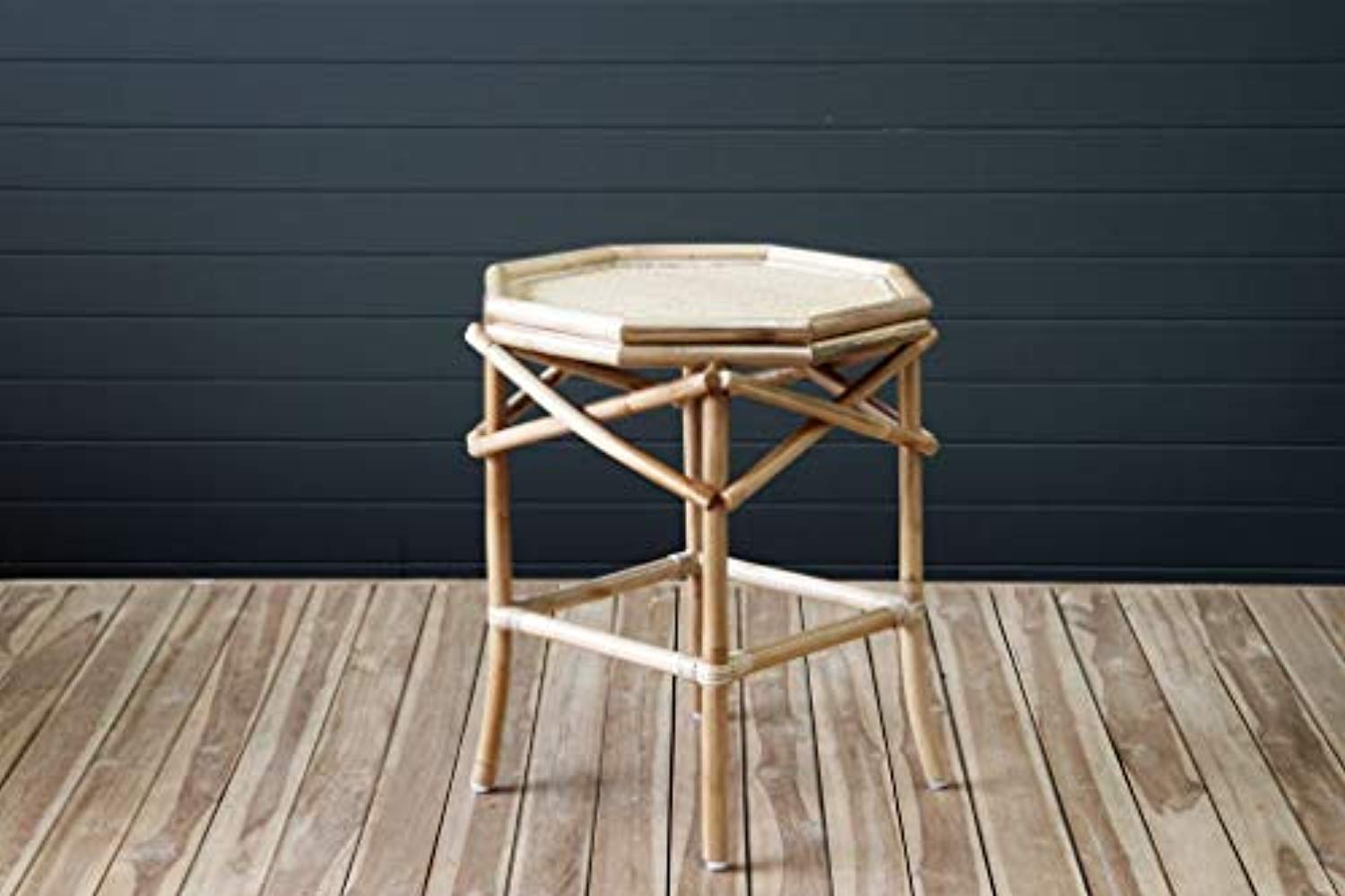 IRA Cancun Side Table – Natural - IRA Furniture