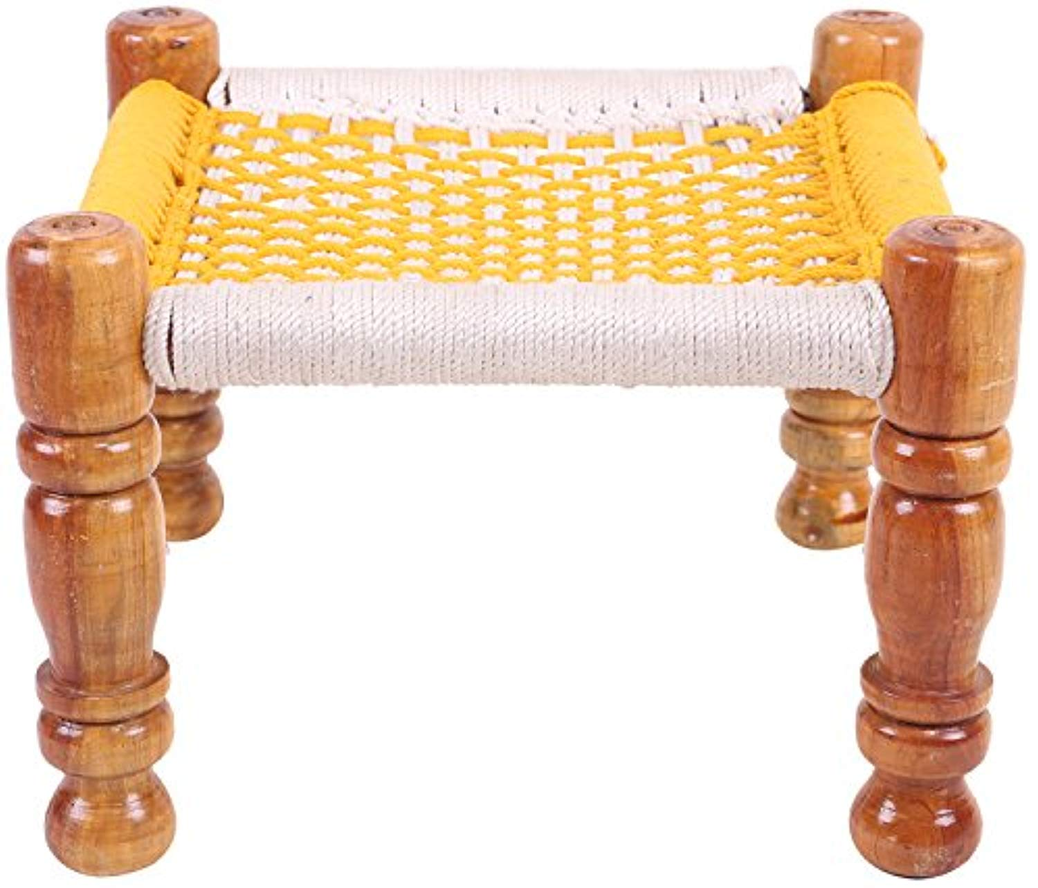 IRA Garden Balcony Pooja Chowki (Orange) - IRA Furniture