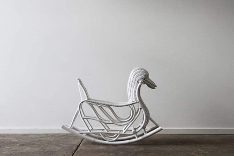 IRA Kid's Rocking Horse - White - IRA Furniture