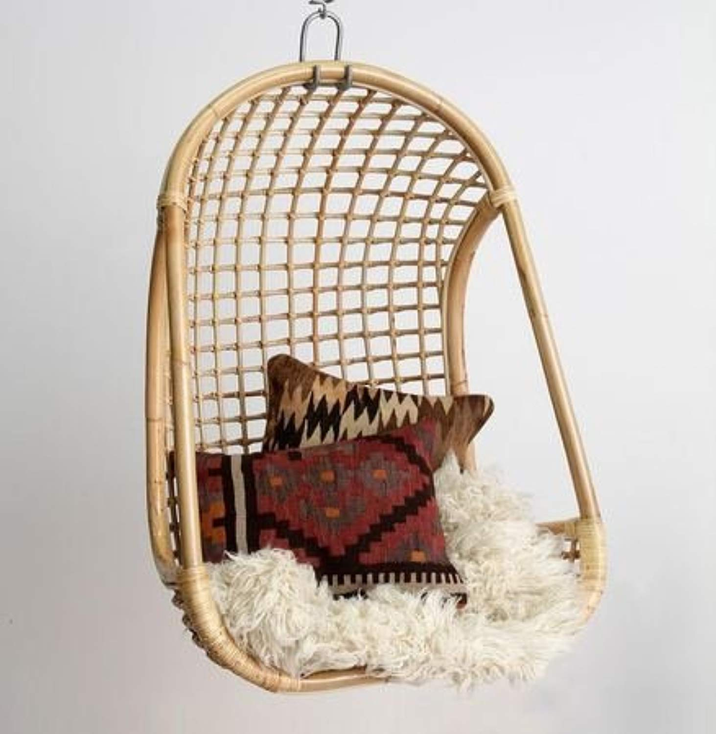 IRA Furniture Rattan Modern Swing Chair - IRA Furniture