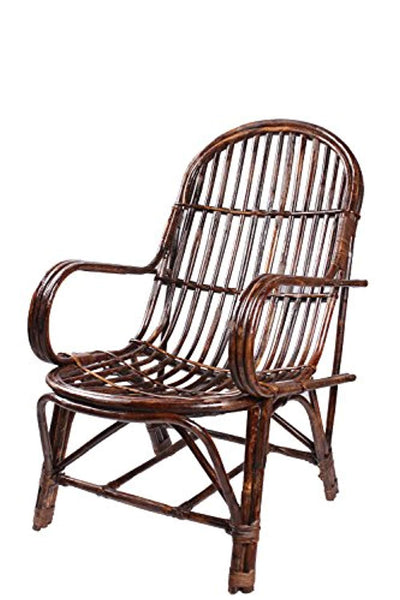 IRA Art Rattan Easy Chair with cushion - IRA Furniture