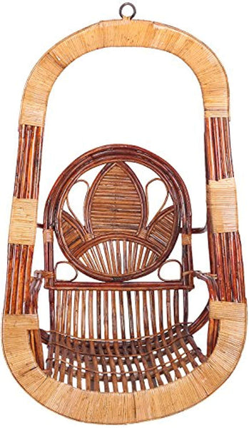 IRA Cane Garden Indoor Outdoor Swing (Brown) - IRA Furniture