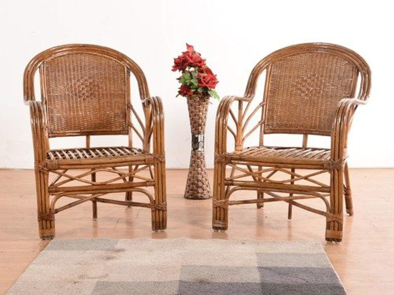 IRA Bamboo Lounge Chair (Set of 2) - IRA Furniture
