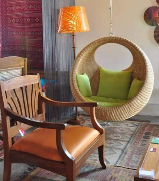 IRA Rattan Modern Swing Chair - IRA Furniture