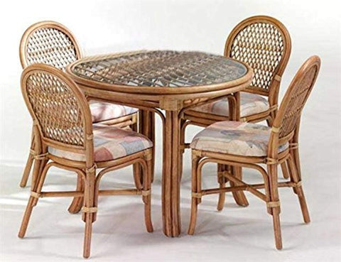 IRA World Dining Set (4 Chair , 1 Center Table) - IRA Furniture