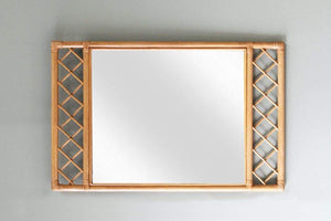 IRA Natural Frame Bathroom Vanity Living Room Mirror - IRA Furniture
