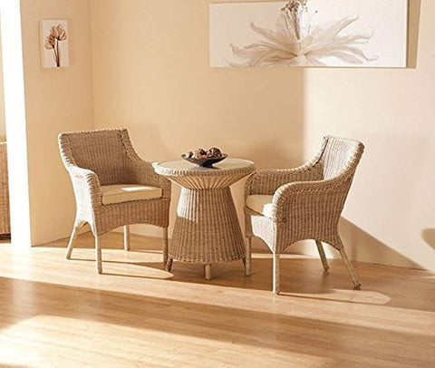 IRA Set of 3 Tea Table (Honey) - IRA Furniture