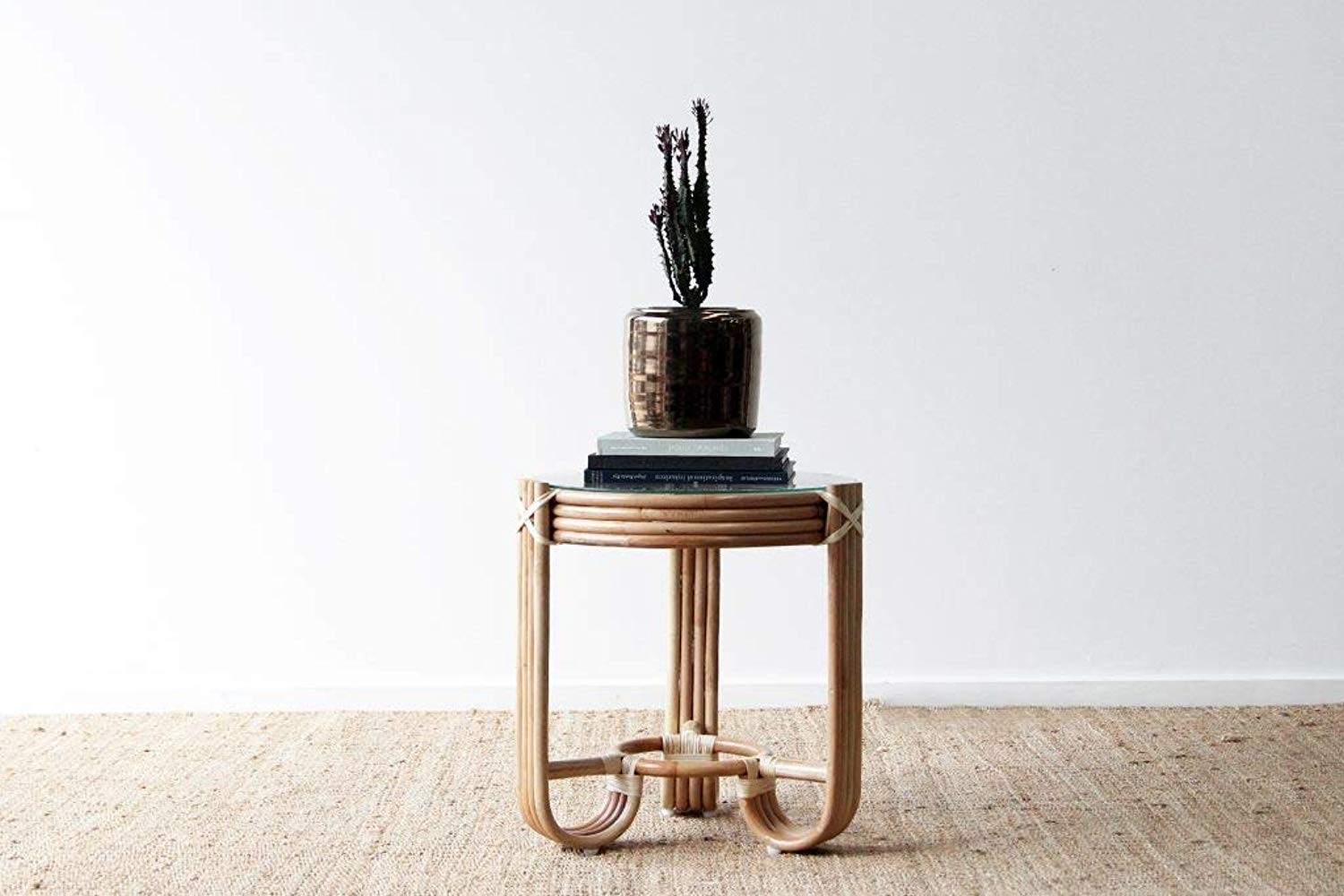 IRA Pretzel Side Table – Natural - IRA Furniture