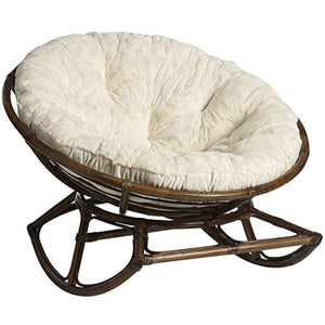 IRA Papasan Rocking Chair with Cushion - European Design - IRA Furniture
