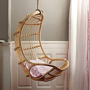 IRA Cane Furniture Rattan Modern Swing Chair,Standard,Brown - IRA Furniture