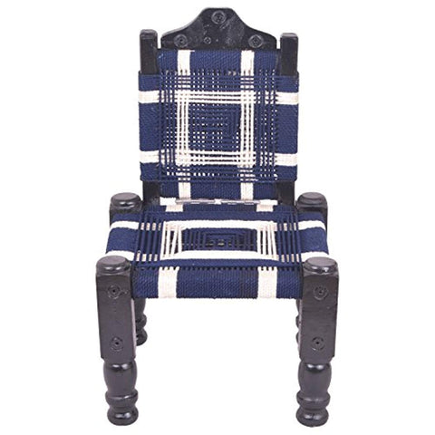 IRA Wooden Back-Foldable Khatli Bajot Chowki Chair - Foldable - IRA Furniture