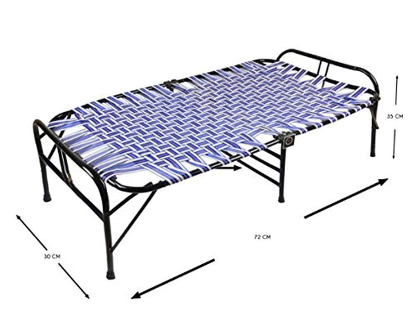 IRA Single Size Folding Bed (Black) - IRA Furniture