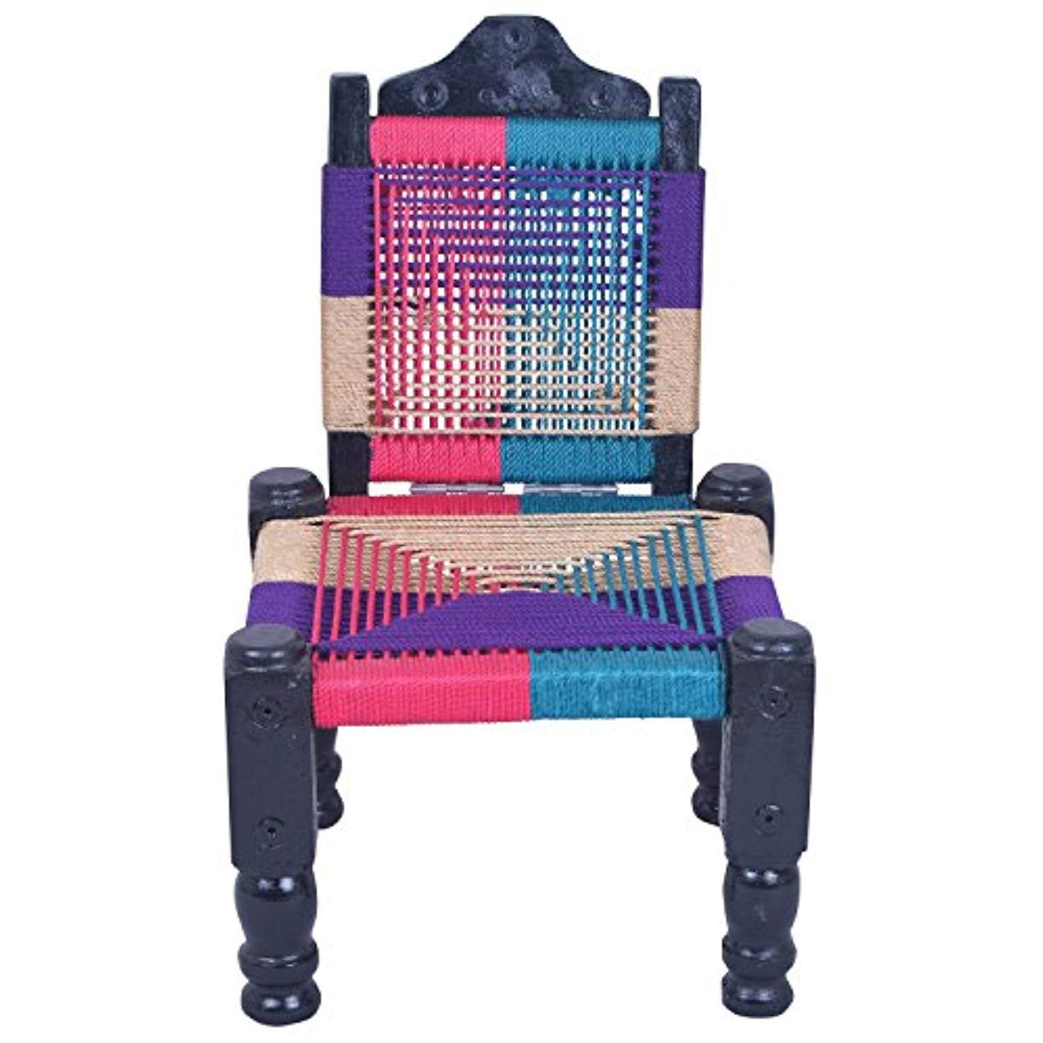 IRA High Wooden Back Foldable Chair (Multiclour) - IRA Furniture