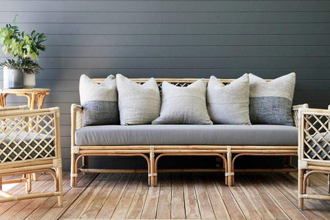 IRA Wicker Daybed, Natural - IRA Furniture