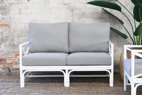 IRA 2 Seater White Retro sofa - IRA Furniture