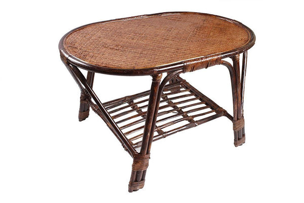 IRA Rattan Modern Oval Table - IRA Furniture