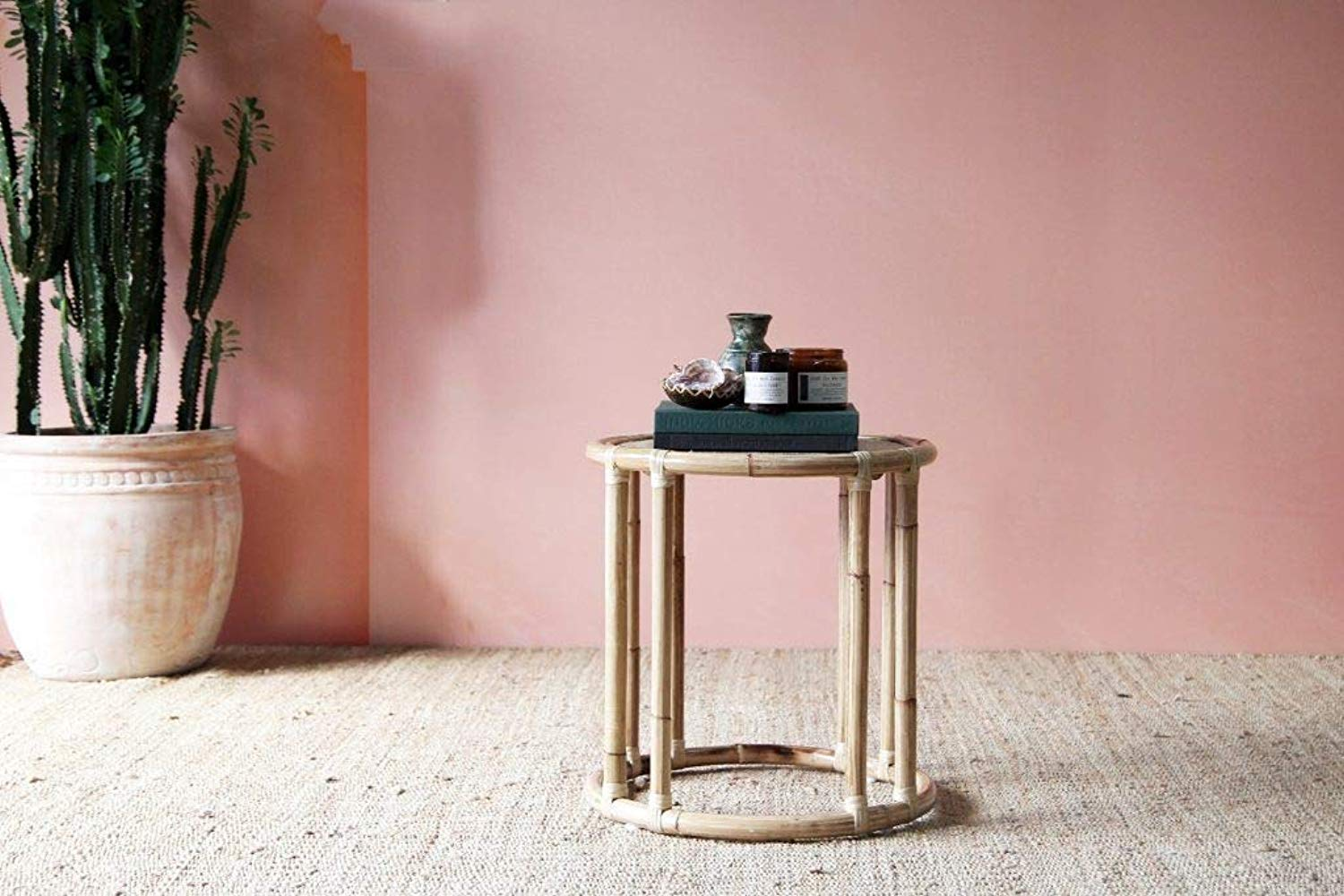IRA Compass Low Side Table– Natural - IRA Furniture