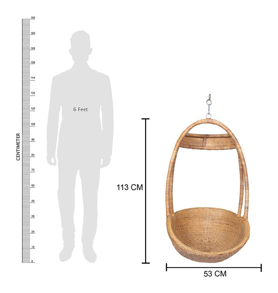 IRA Dominico Hanging Swing (Honey) - IRA Furniture